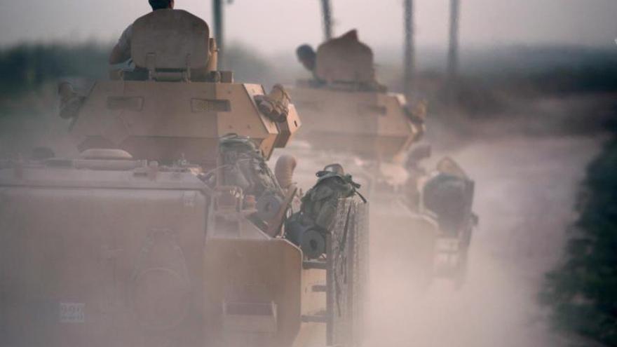 Turquía dice que sus tropas han matado ya a 109 milicianos kurdos en Siria