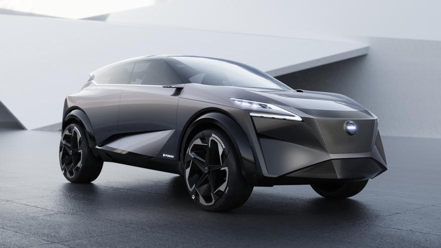 Nissan IMq, presentado en el Salón de Ginebra 2019.