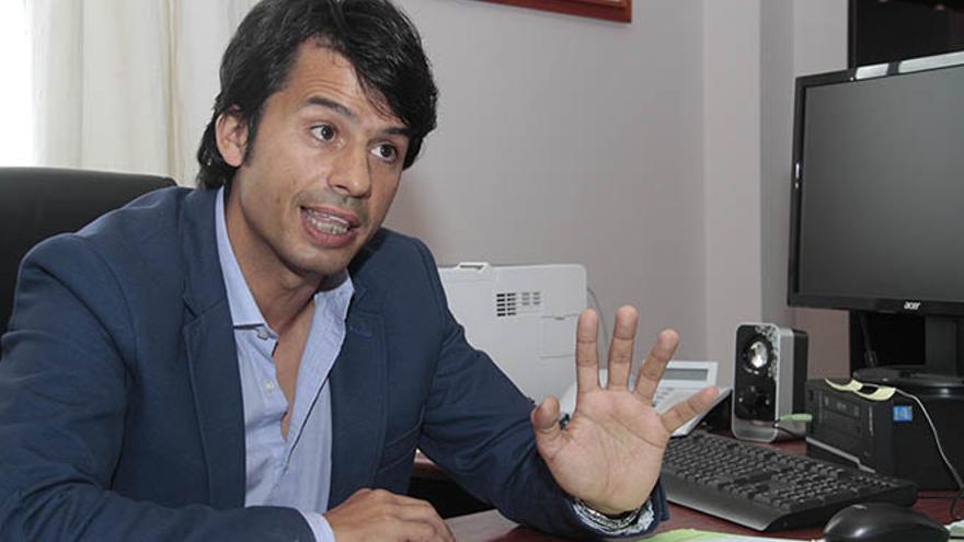 Marcos Bergaz, consejero de Política Territorial. Foto: De la Cruz.
