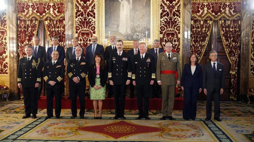 El Rey recibe a la asociación que difunde el legado español en Estados Unidos