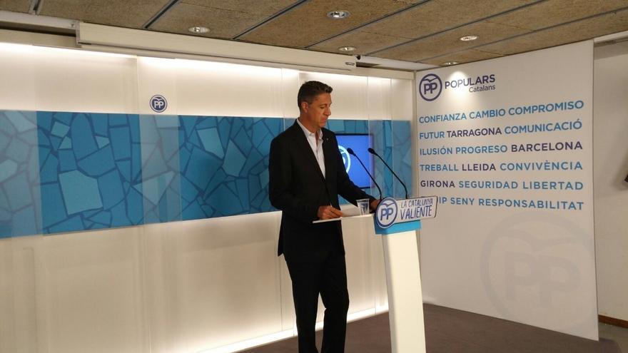 """Albiol ve una oportunidad para el PP en la """"deriva"""" del PSOE hacia la plurinacionalidad"""