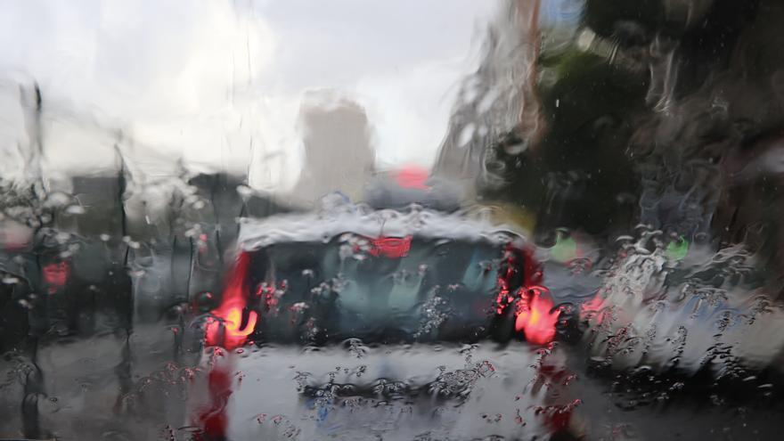 Lluvias en Las Palmas de Gran Canaria.