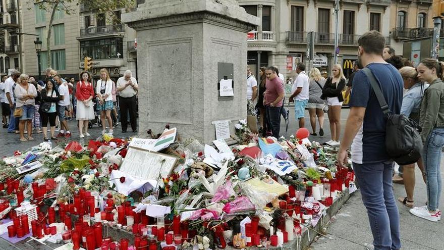 Una persona herida en el atentado de Barcelona ha sido dado de alta