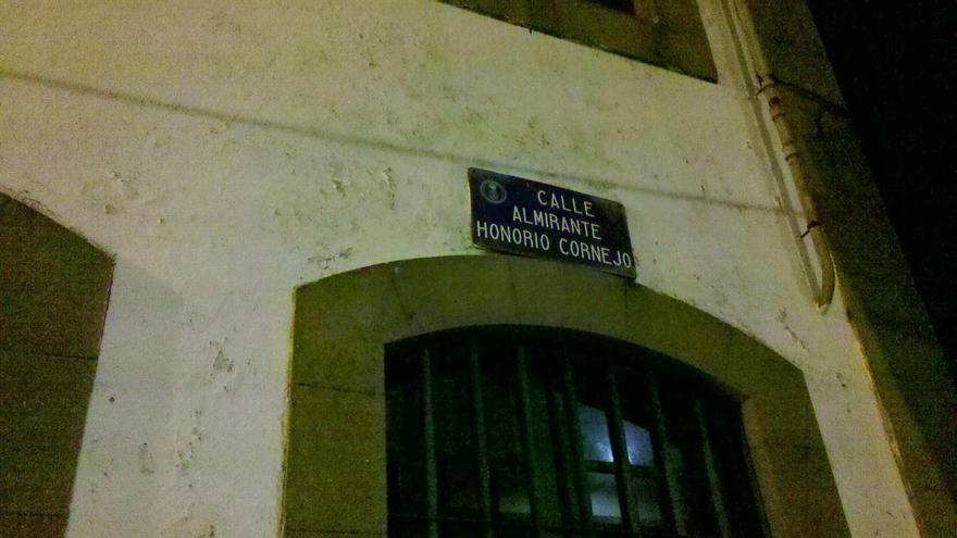 Imagen de la calle Almirante Honorio Cornejo