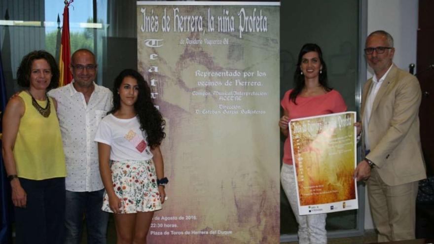 Representación de teatro popular 'Inés de Herrera, la niña profeta'
