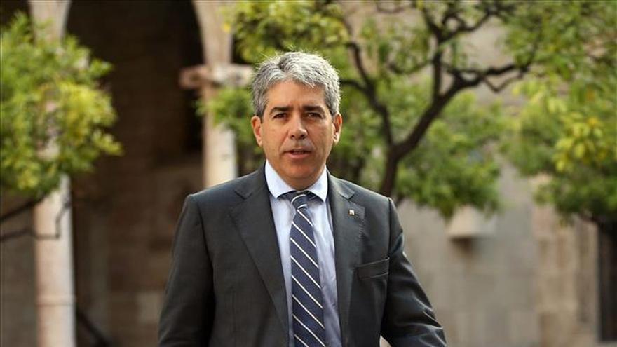 Homs anuncia su marcha del Govern y pide excusas en lo que haya podido fallar