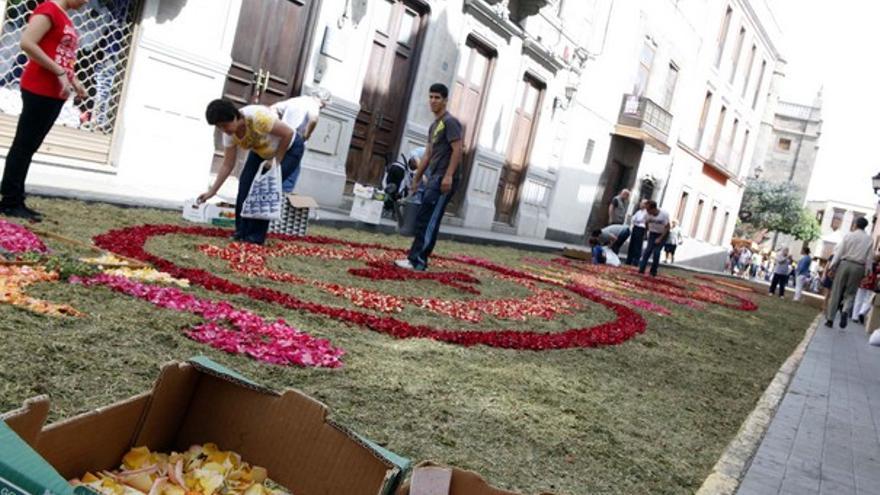 De las alfombras en Vegueta #1