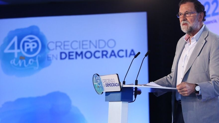 """Rajoy afirma que se responderá """"con total firmeza"""" al desafío independentista: """"Nadie va a liquidar la democracia"""""""