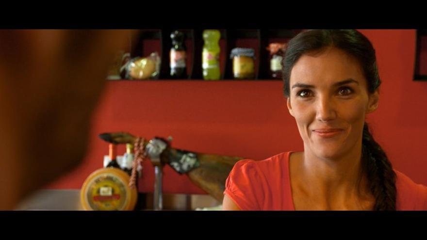 La actriz Teresa Lozano en la película 'Ligones'