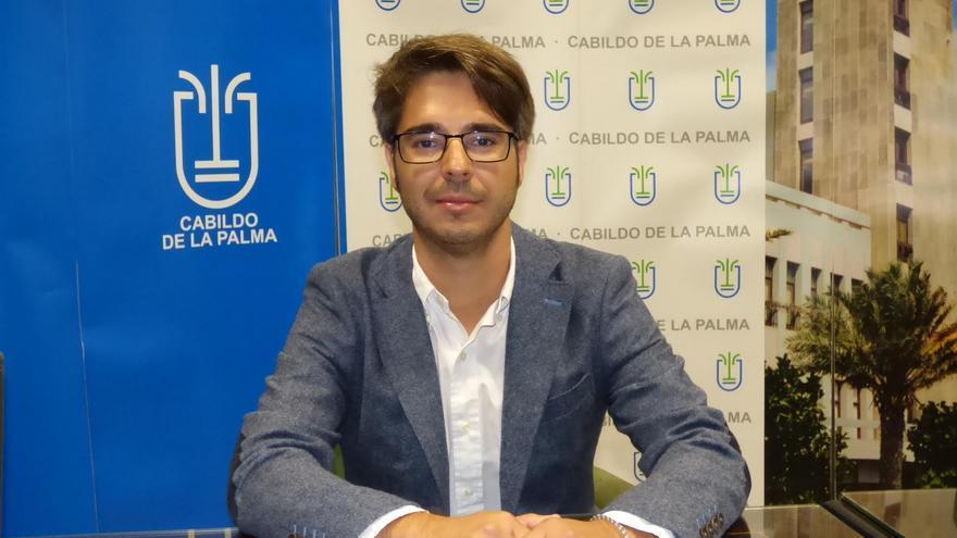 Sergio Felipe es consejero del grupo Popular en el Cabildo. Foto: CARLOS ACIEGO.