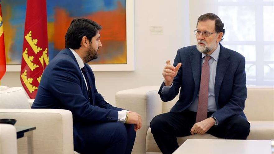 Murcia pide a Rajoy que una reforma de la Constitución garantice el agua