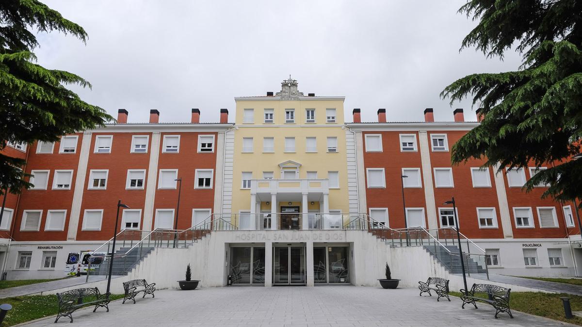 El Hospital San Juan de Dios de Burgos, en una imagen de archivo.