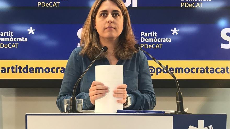 """El PDeCAT ve una """"operación de maquillaje"""" el acto de Rajoy sobre infraestructuras"""