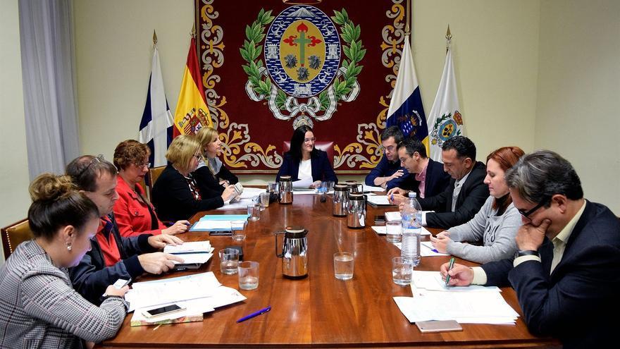 Comisión de Gobierno celebrada este jueves en el Ayuntamiento capitalino