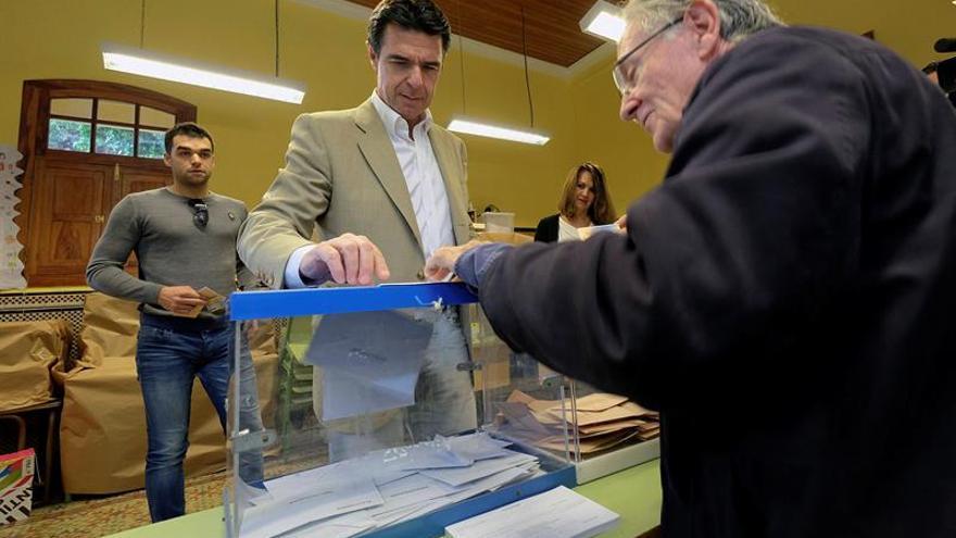 El ministro de Industria y candidato del Partido Popular, José Manuel Soria.  EFE/Ángel Medina G.