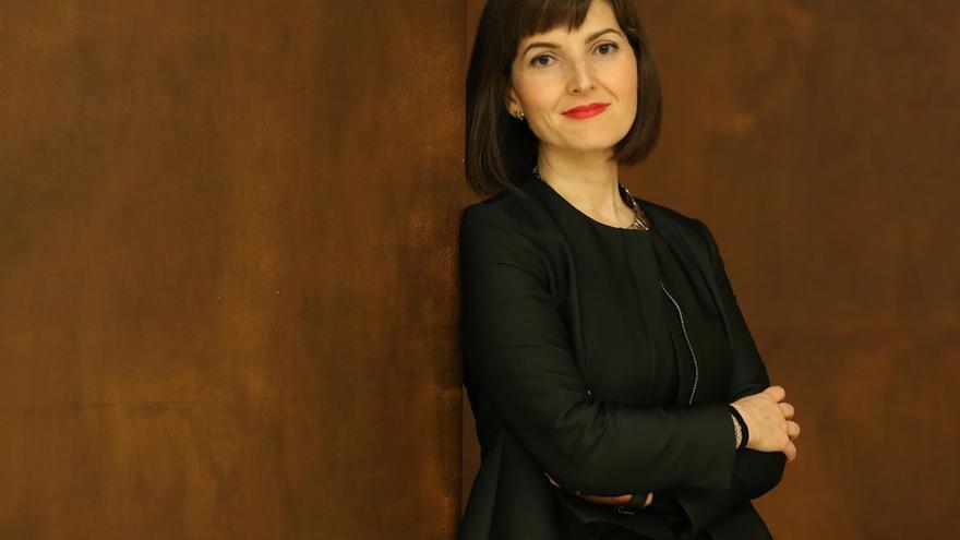 Lucía Avilés, jueza y miembro de la AMJE / Foto: Marta Jara