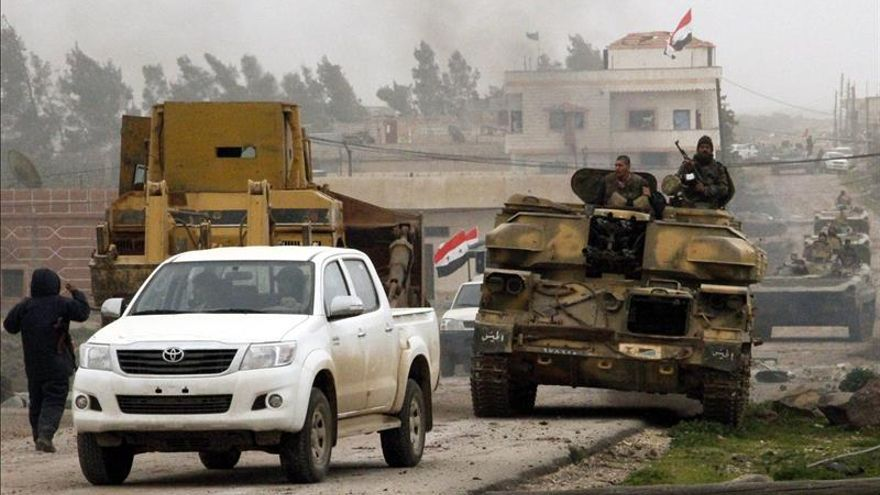 La multiplicación y el descontro de las facciones armadas en Siria complica la solución política