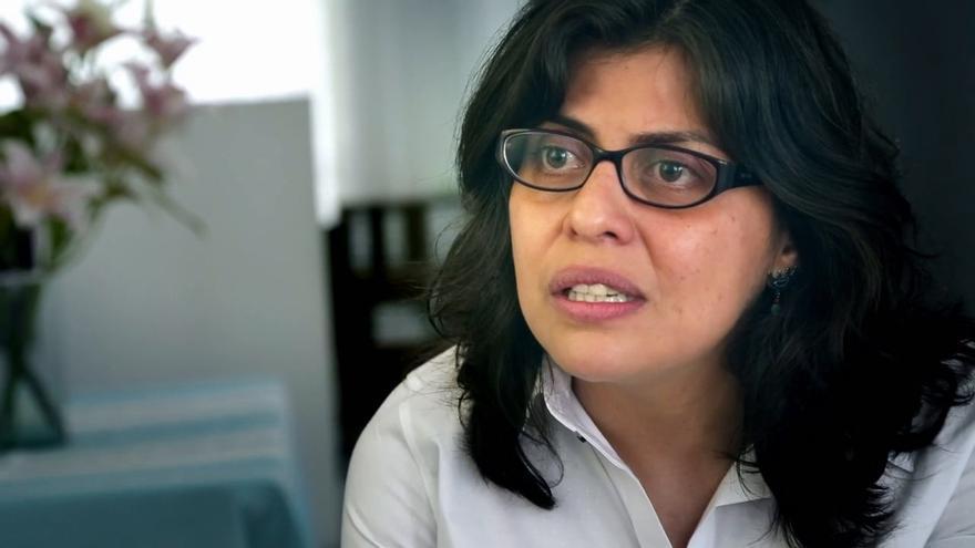 Alejandra Ancheita es la primera mexicana galardonada con el Martin Ennals. En 1997, lo recibió el obispo mexicano Samuel Ruiz.