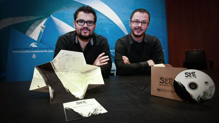 En la imagen, presentación en el Auditorio de Tenerife del primer disco de la formación, These times we are living. Foto: DÈSIRÉE MARTÍN