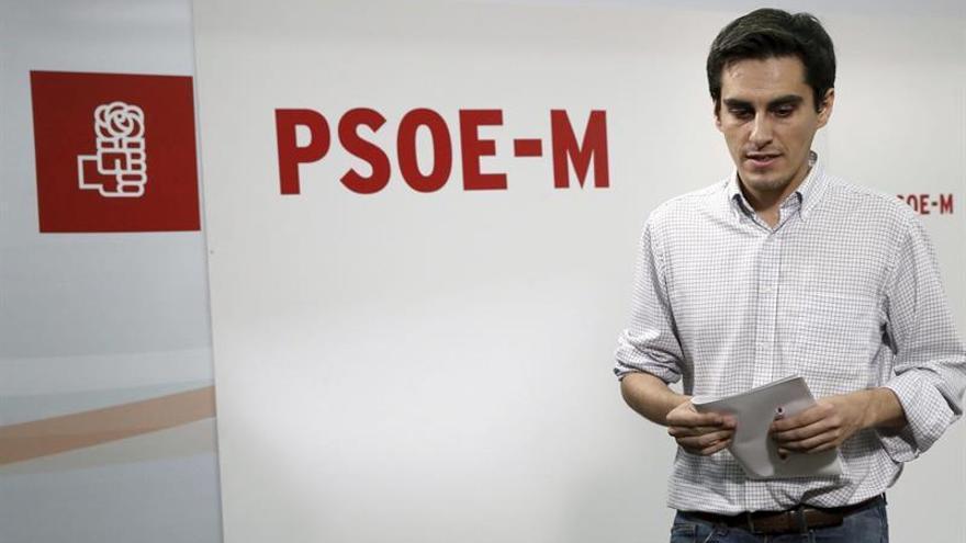 El PSOE-M no tomará medidas sobre Carmona al respetar la autonomía del grupo