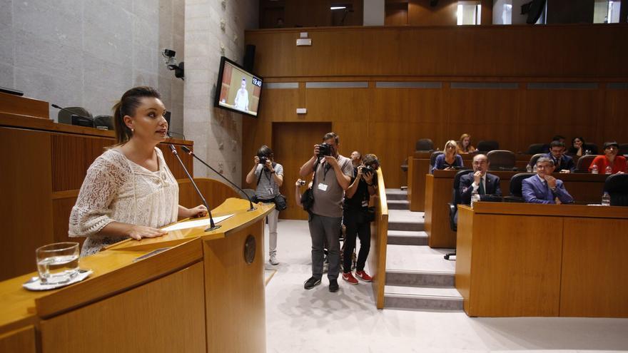 La consejera de Ciencia, Universidad y Sociedad del conocimiento del Gobierno de Aragón, Maru Díaz (Podemos)