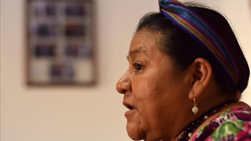 """Rigoberta Menchú asegura que el """"horror"""" en Guatemala de hace 34 años """"no ha terminado"""""""