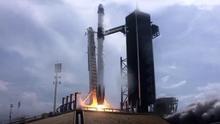 Despega con éxito la 'Crew Dragon', la primera misión espacial tripulada de EEUU en nueve años
