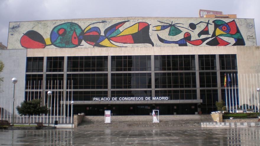 Palacio de Congresos de Madrid/ cc Hanneorla
