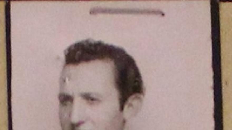 El agente de la Brigada Político Social Roberto Conesa en una foto de la década de 1940.