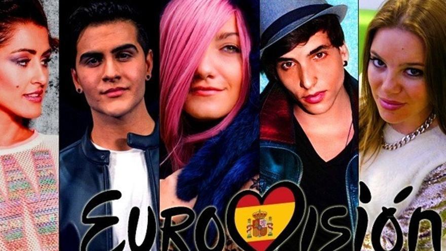 Xuso Jones, Barei y Electric Nana, el trío favorito para Eurovisión 2016