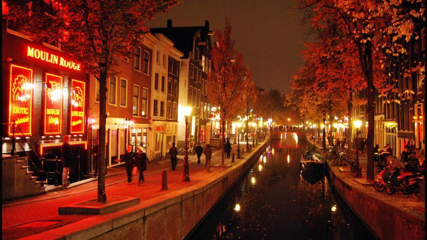 Barrio Rojo, Ámsterdam. Foto: María Neupavert