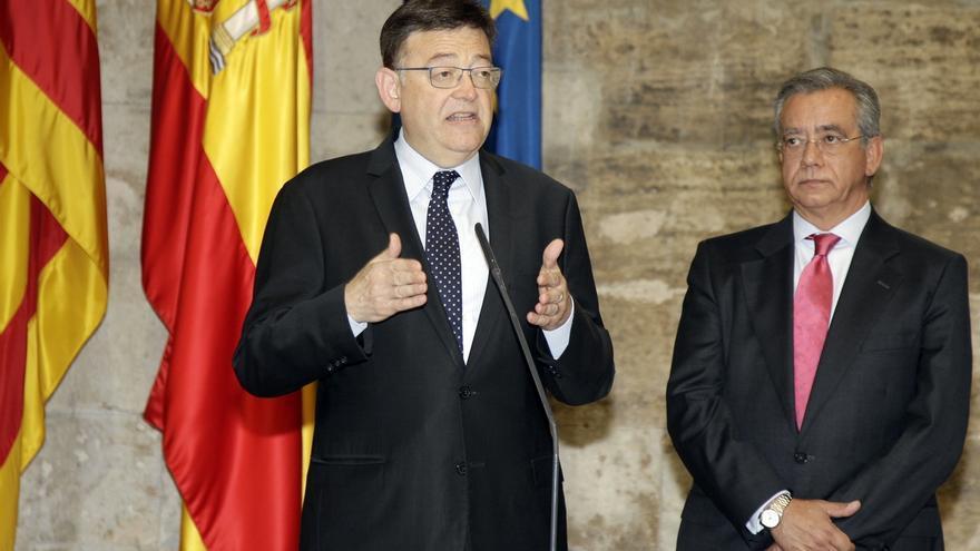 """Puig dice que los valencianos traspasarán el """"muro de la vergüenza"""" que les impide tener la financiación correspondiente"""