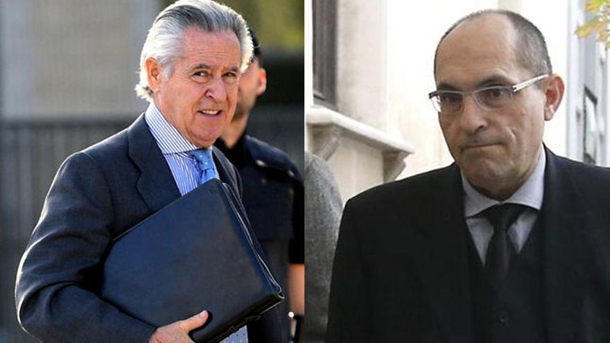 Miguel Blesa y Elpidio Silva