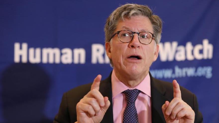 En la imagen, el director ejecutivo para las Américas de Human Rights Watch (HRW), José Miguel Vivanco.