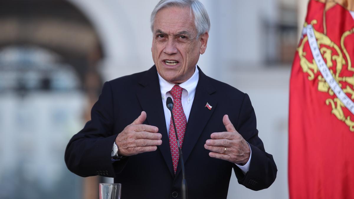 El presidente de Chile, Sebastián Piñera, en una fotografía de archivo.