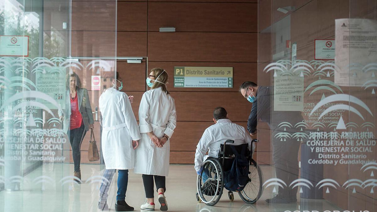 Un centro de salud de Córdoba   TONI BLANCO