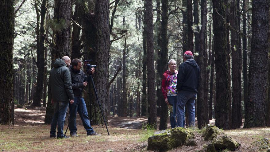 Rodaje de la película 'Buscando el Óscar'. Foto: Virginia Park.