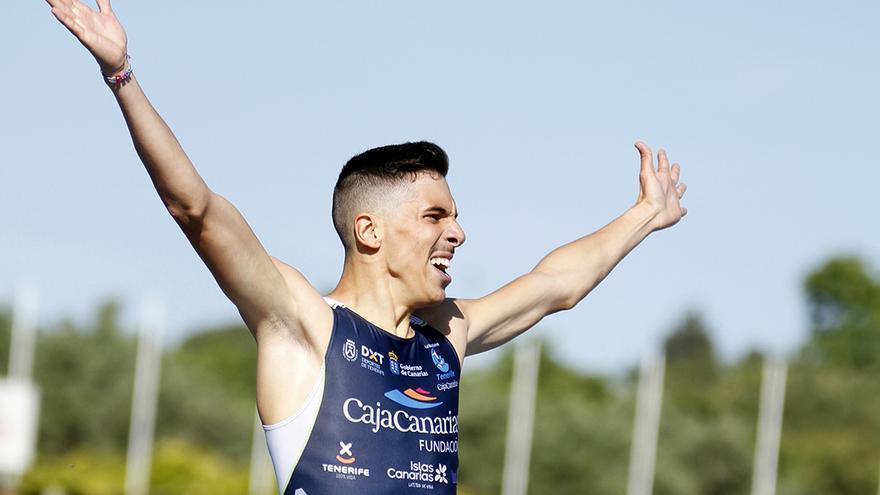Jesús David Delgado compite para el Tenerife CajaCanarias