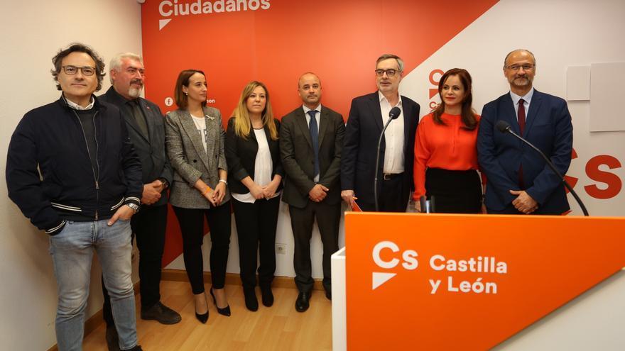 Silvia Clemente durante el acto de presentación de su campaña el pasado mes de febrero.