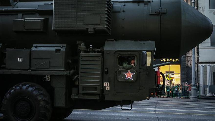 Rusia efectúa con éxito el lanzamiento de un misil balístico intercontinental