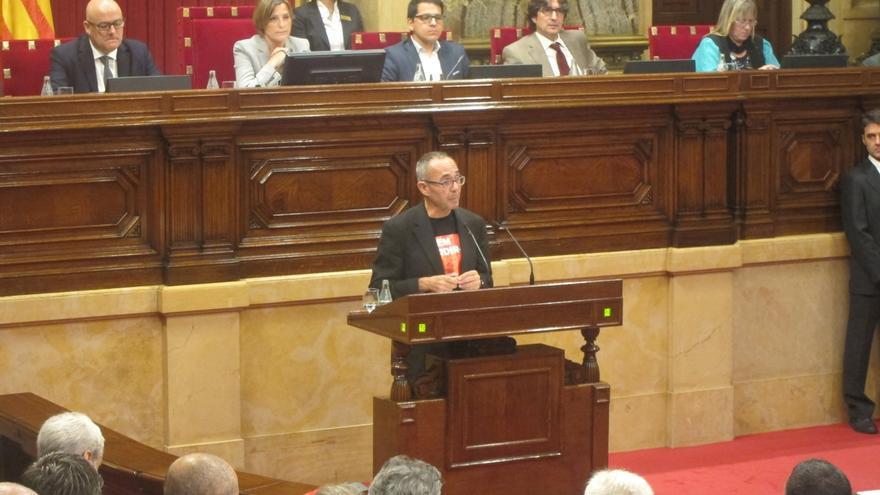 """El Parlament rechaza la propuesta de SíQueEsPot de combinar """"rescate social"""" y referéndum"""