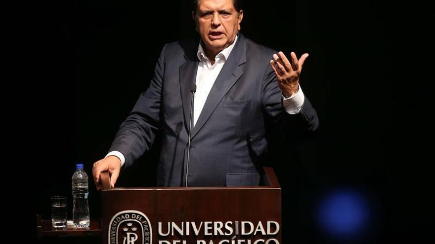 Fiscalía investiga al expresidente Alan García por presunto lavado de activos