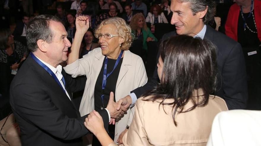 Carmena destaca la disposición de acogida del pueblo madrileño a refugiados