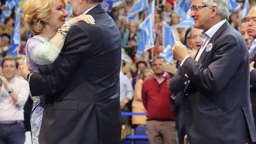 """Esperanza Aguirre pide votar al PP """"como nunca"""" para """"plantar cara"""" a Podemos"""