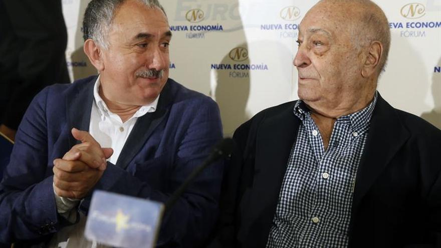 """Álvarez pide que España """"no se tome a broma"""" el referéndum de Cataluña"""