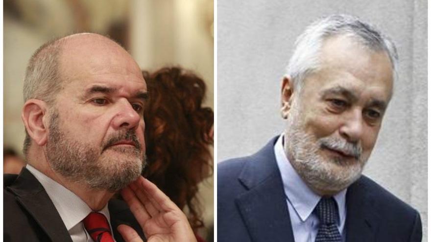 Chaves y Griñán comparecen este lunes en la comisión de formación, en vísperas de que asista Susana Díaz