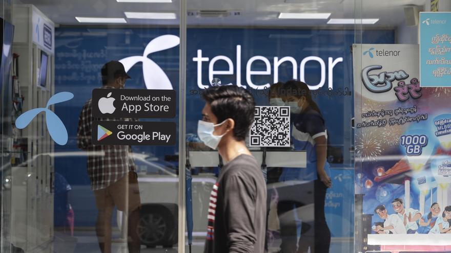 Telenor declara la pérdida total de sus operaciones en Birmania tras el golpe