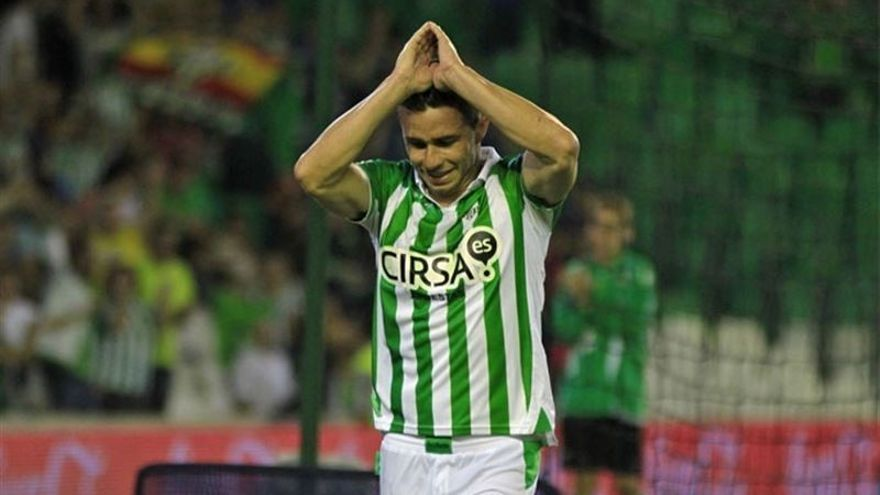 El jugador del Betis, Rubén Castro.