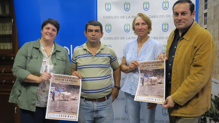 Presentación del Concurso Insular de Arrastre de Ganado.