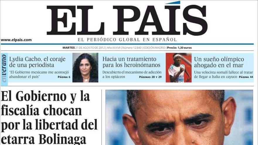 De las portadas del día (21/08/2012) #9
